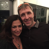 With the super cool biohacker Dave Asprey at the his book launch party for the Bulletproof Diet.